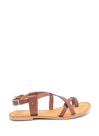 Derimod Spor Sandalet Taba